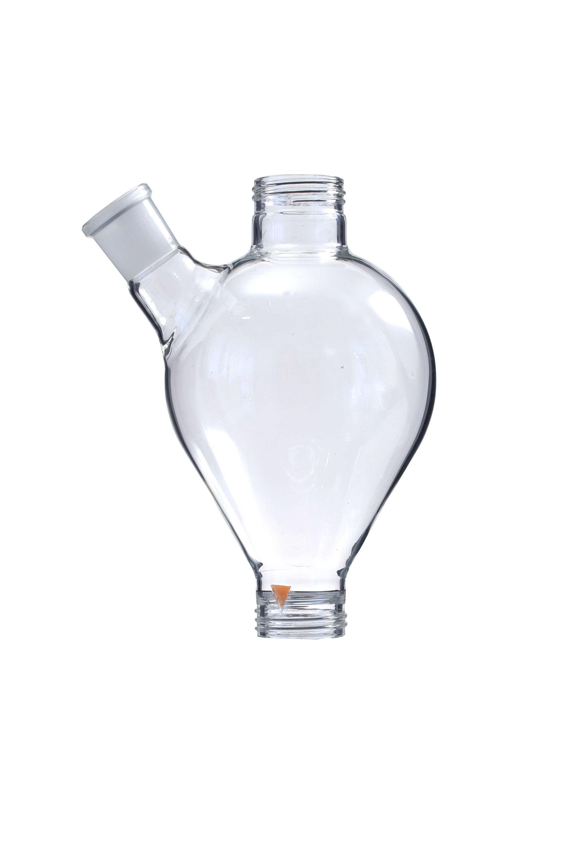 5811 Glasgefäss mit Seitenstutzen (ca. 1 l)
